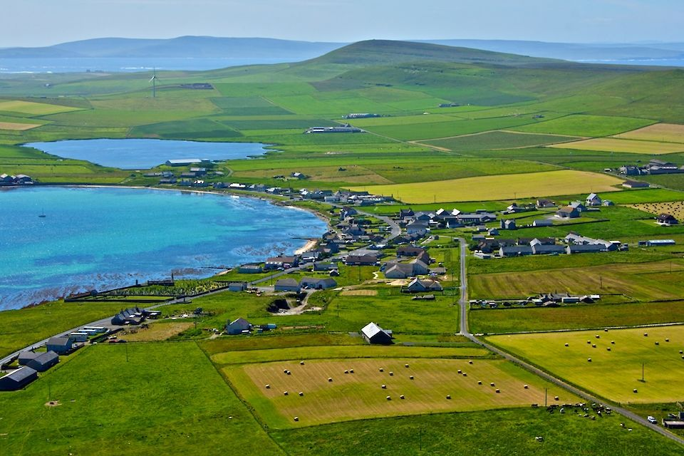 The island of Westray could be a destination for you with Orkney Ferries this summer