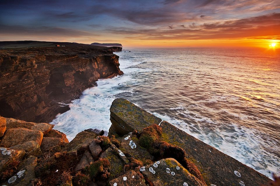 The cliffs at Yesnaby in Orkney - image by Pawel Kuzma