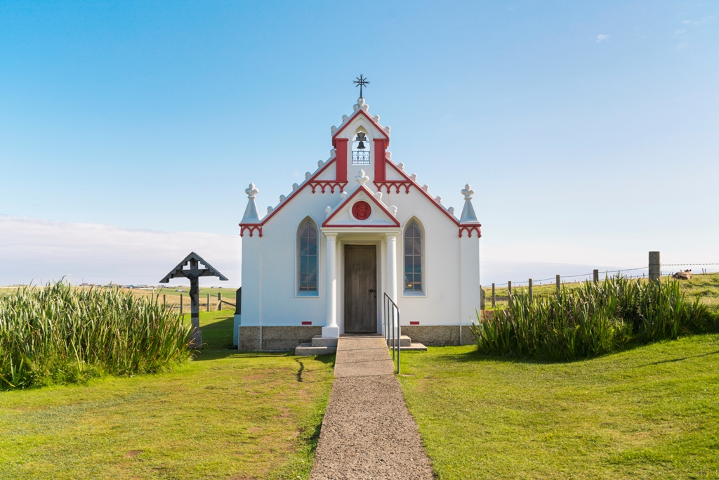 Orkney's Italian Chapel - image by Kenny Lam/Visit Scotland
