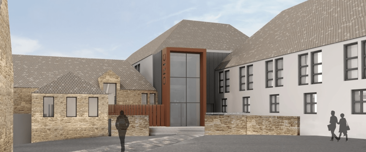 Construction work on Orkney's new Research and Innovation Centre has begun