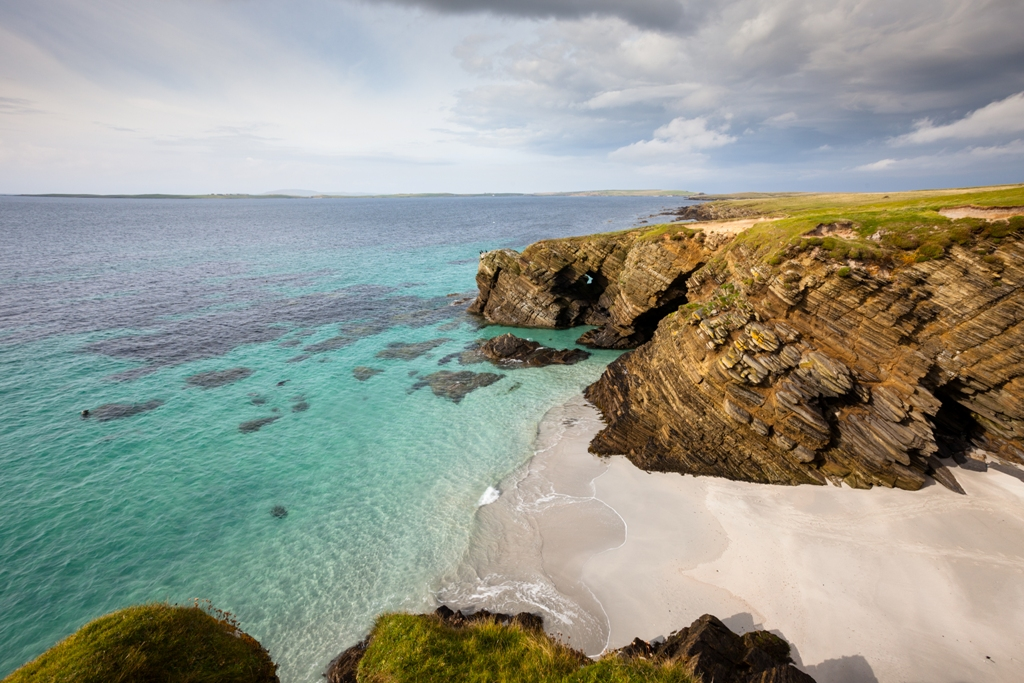 Your own little slice of paradise in Faray, Orkney - image by Premysl Fojtu
