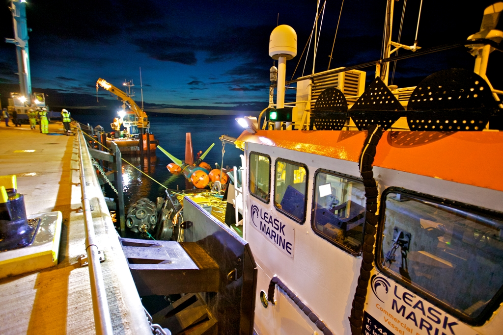 Orkney's Leask Marine Ltd is in the running for an award once again - image by Colin Keldie