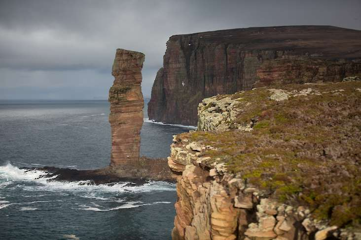 The Old Man of Hoy is one of Orkney's most famous landmarks