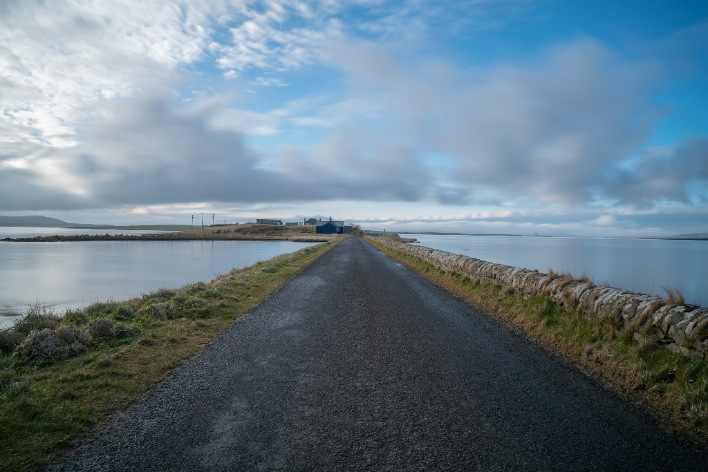 The road to Brodgar, Orkney - image by Martin Lever