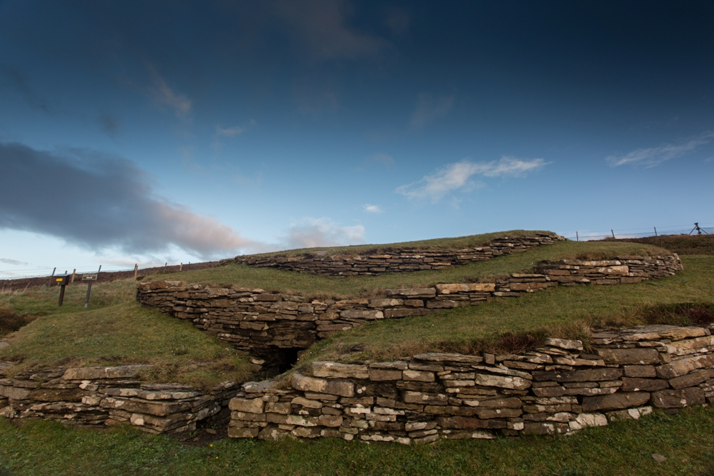 The Wideford Hill Chambered Cairn