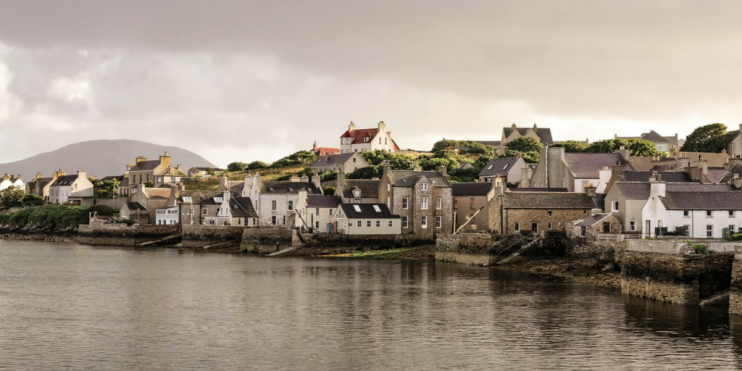 The town of Stromness is at the heart of Orkney's renewable energy industry