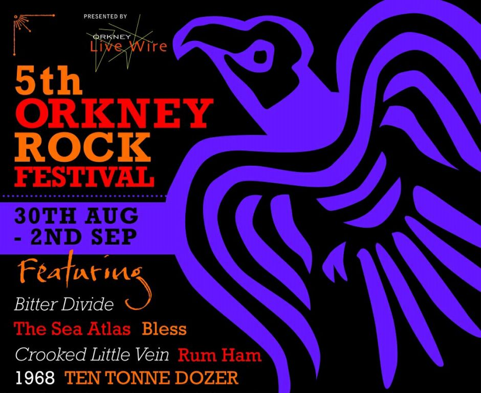 The Orkney Rock Festival brings in September in style