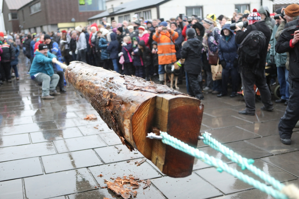The Yule Log event brought back to Stromness in 2017