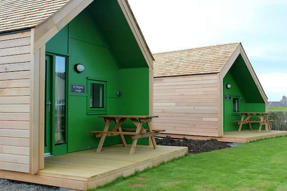 The Picky Centre Camping Pods