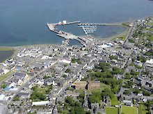 Aerial view of Kirkwall
