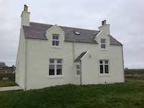 The Morven gateway house in Papa Westray