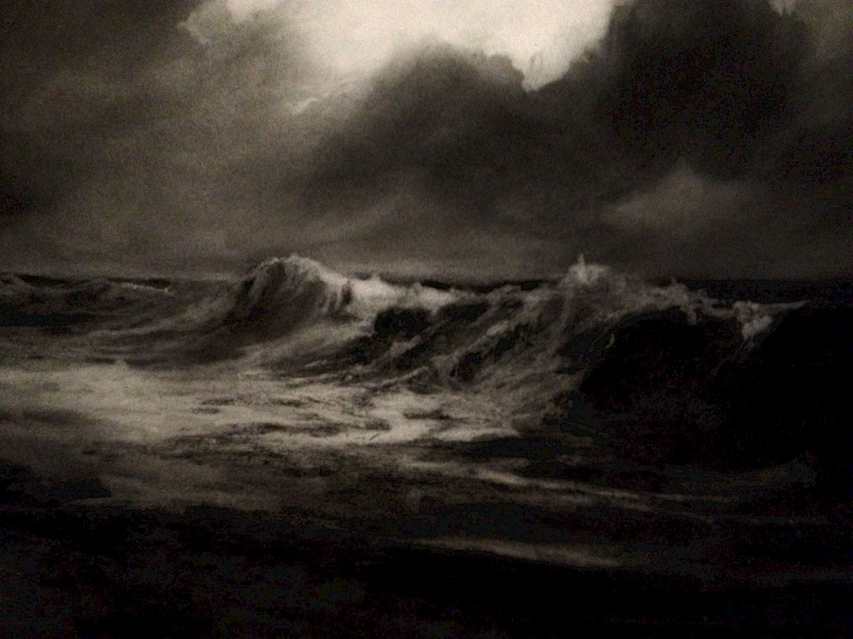 Yesterdays Storm - charcoal - online at scotlandart.com