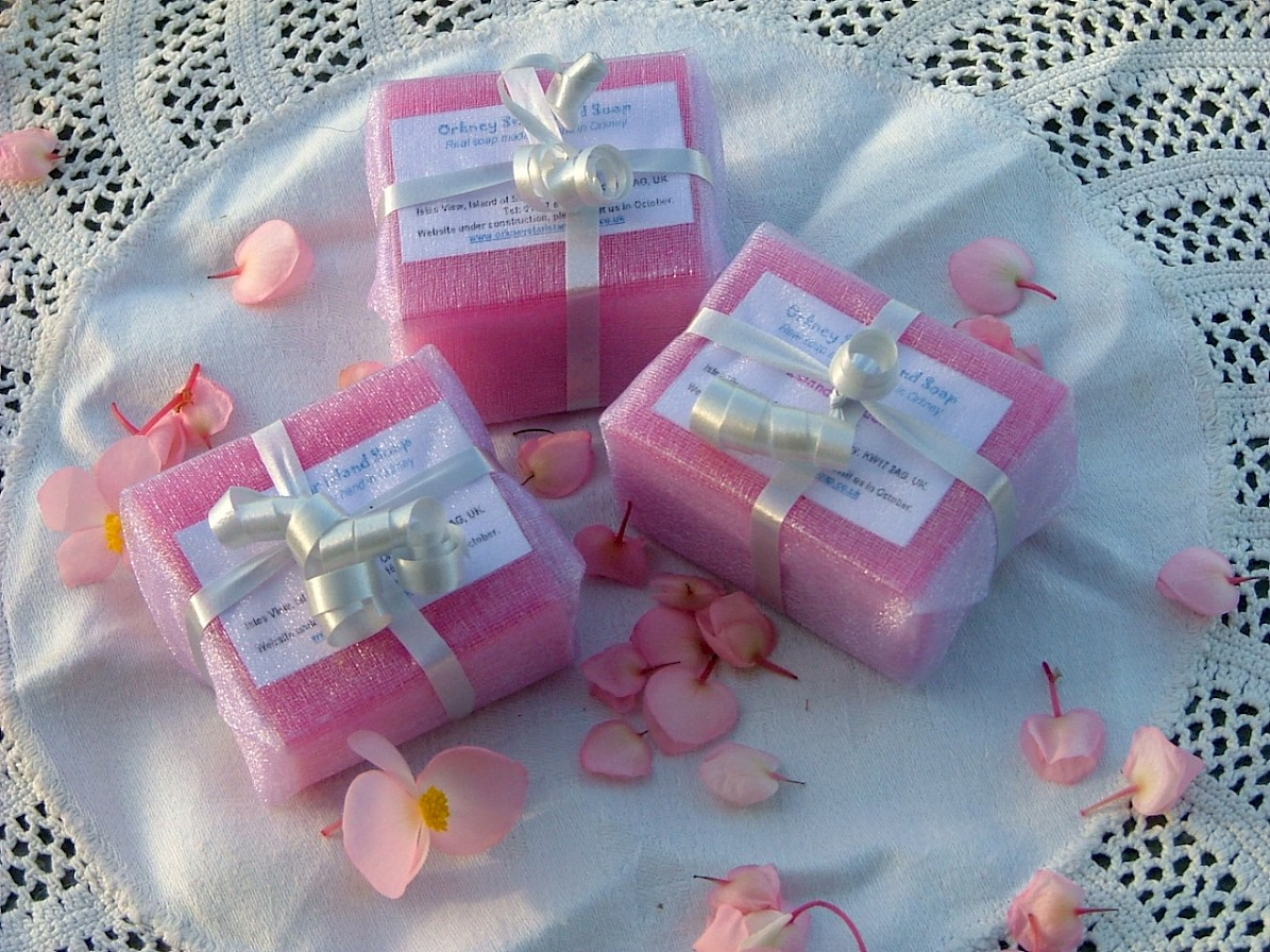 Wedding Favour soaps
