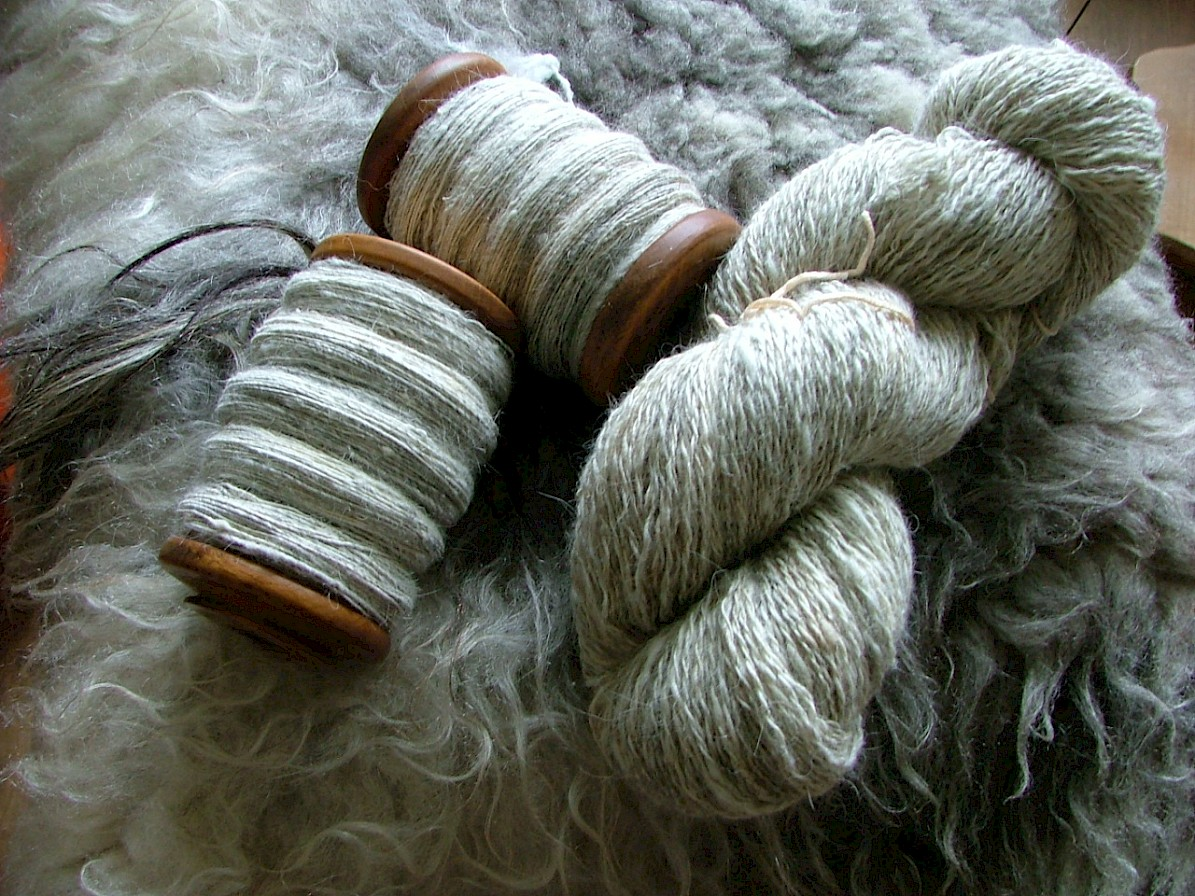 North Ronaldsay yarn
