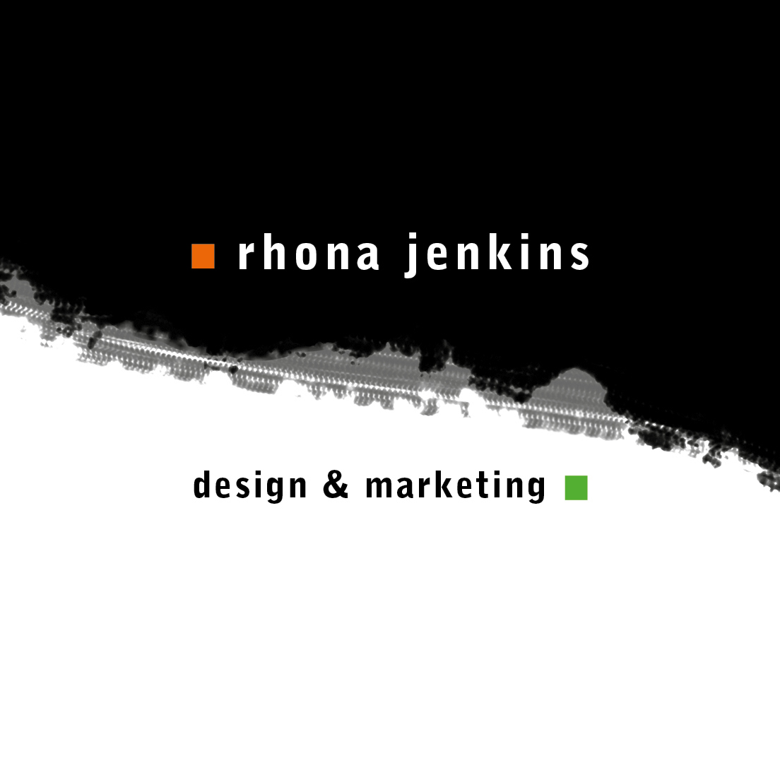Rhona Jenkins Design & Marketing Logo