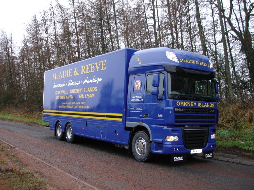 Newest Lorry in the Fleet