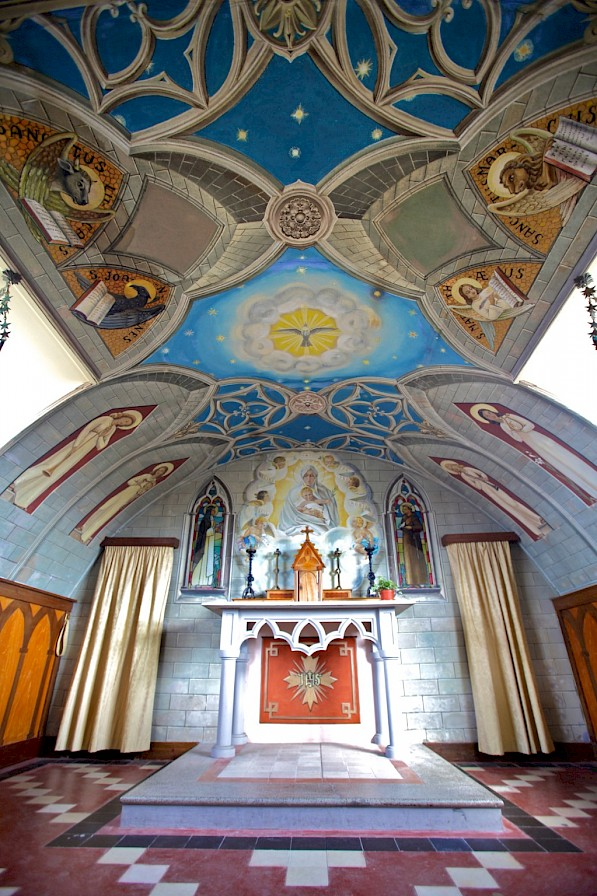 Inside the Italian Chapel, Orkney - image by Colin Keldie
