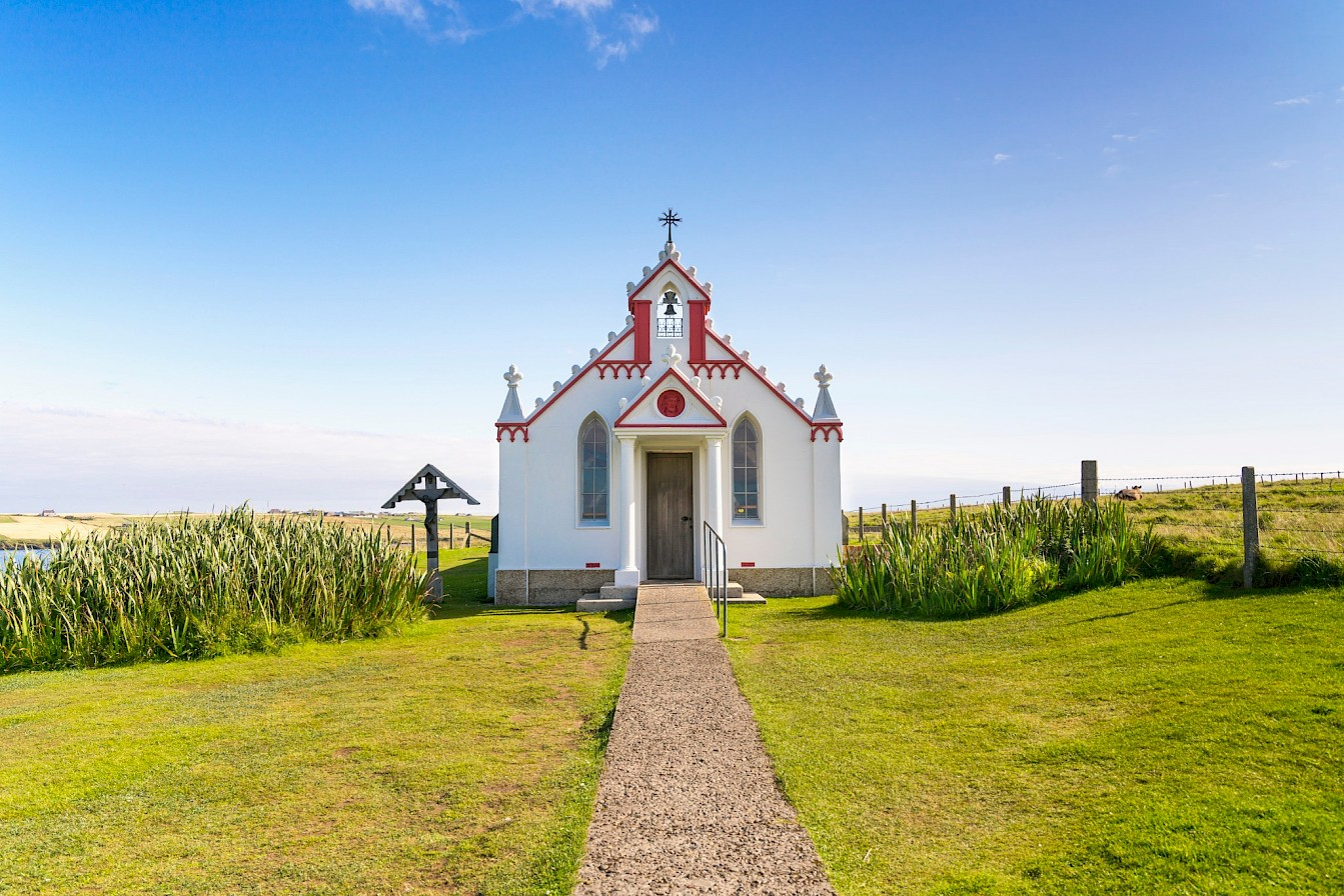 Italian Chapel, Orkney - image by VisitScotland/Kenny Lam