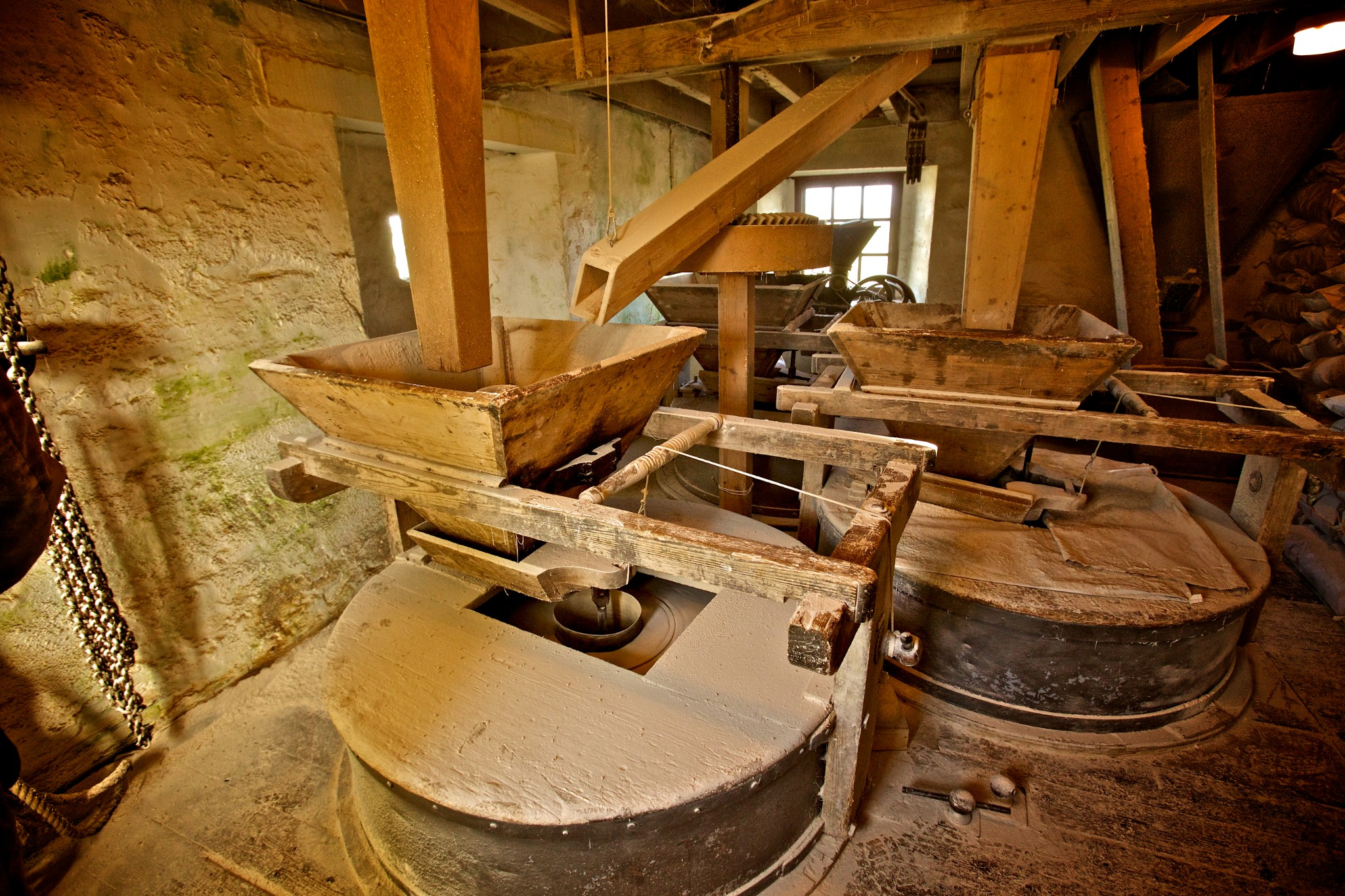Inside the Barony Mill, Orkney - image by Colin Keldie