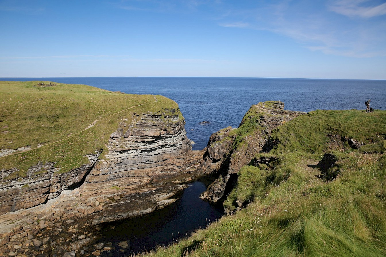 View over the Brough of Deerness, Orkney