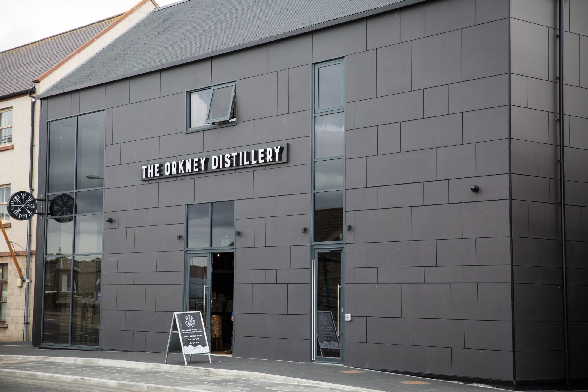 The Orkney Distillery at Kirkwall's harbourfront