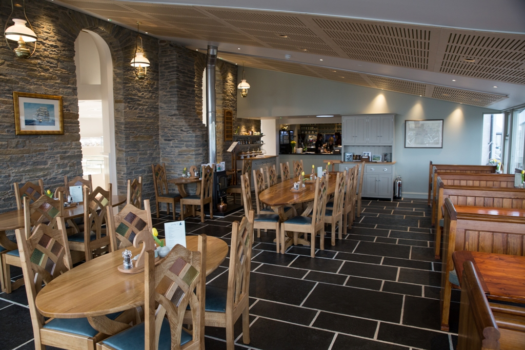 The Kirk Cafe at Sheila Fleet's base in Orkney's east mainland