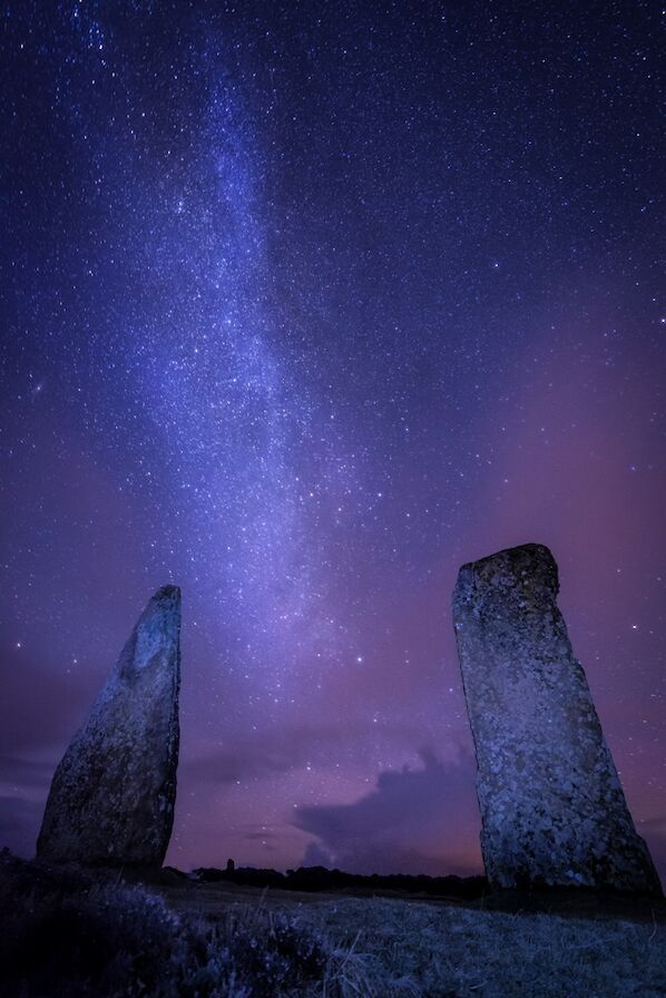 Stars above the Ring of Brodgar - image by James Grieve