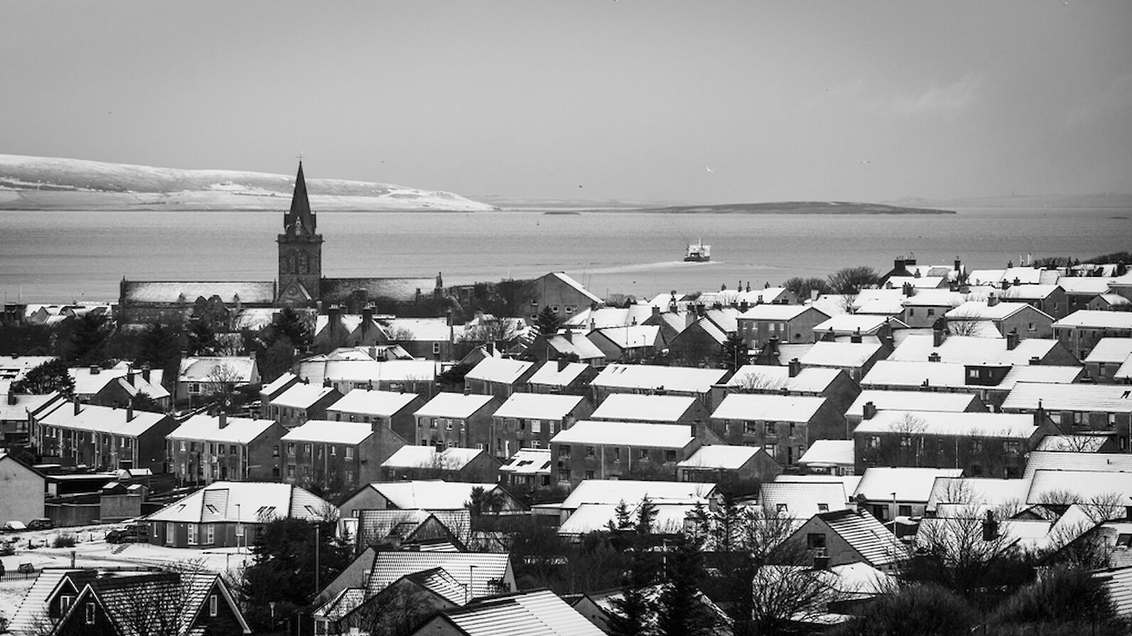 Snowy Kirkwall - image by James Grieve