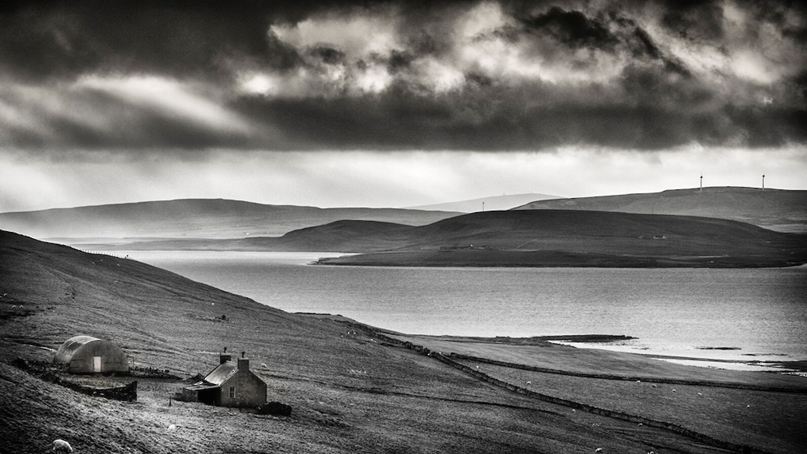 The view from Rousay - image by James Grieve