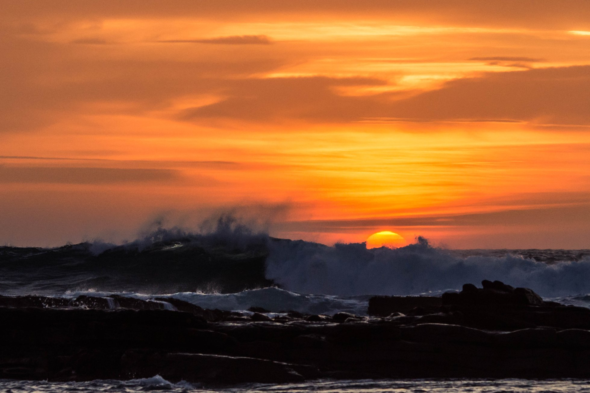Sunset at Skaill, Orkney - image by Graham Duffin