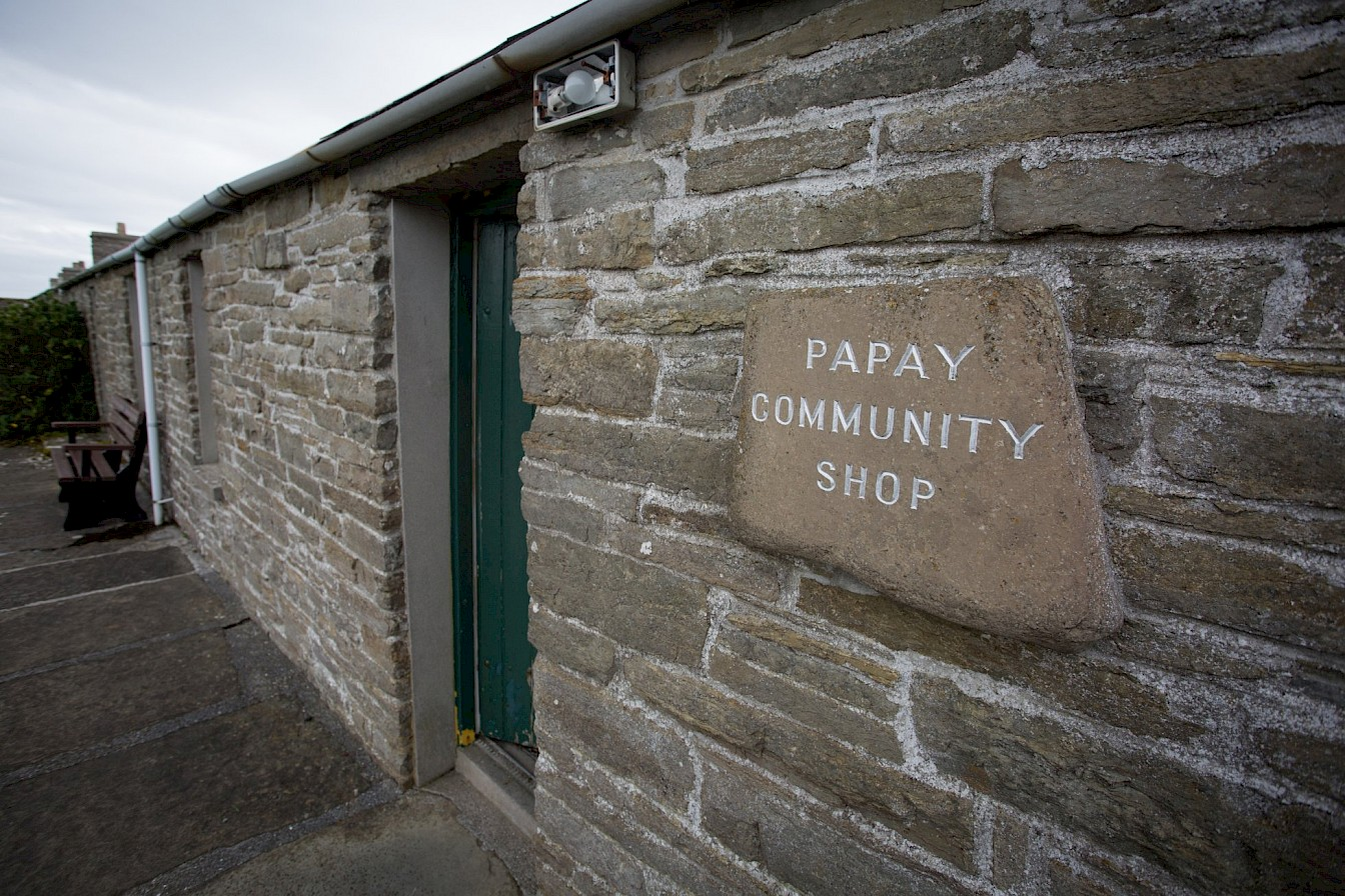 The Papay Community Shop, Papa Westray, Orkney