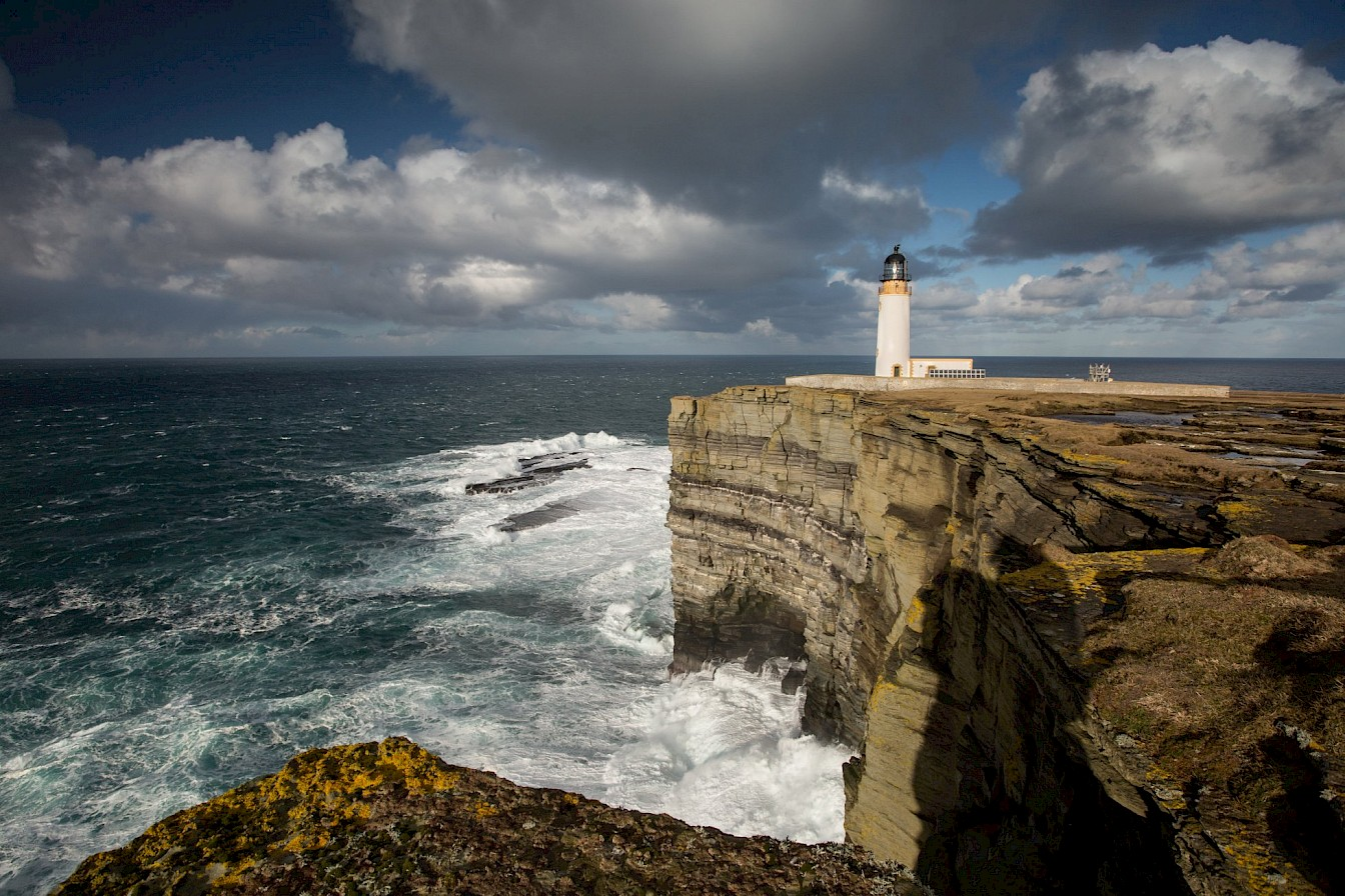 Noup Head lighthouse, Westray, Orkney