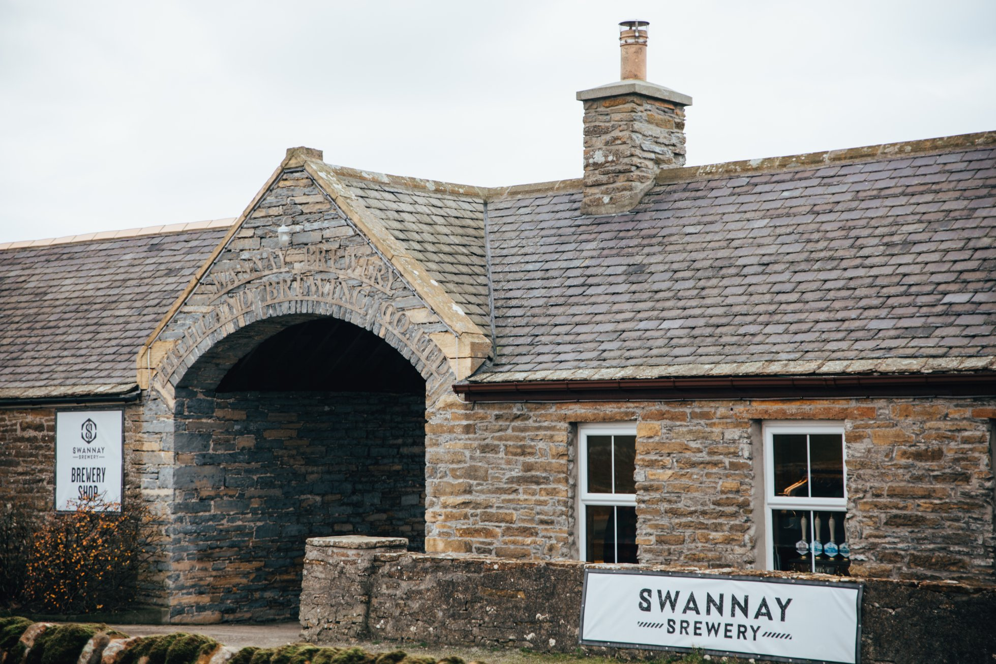The Swannay Brewery, Orkney