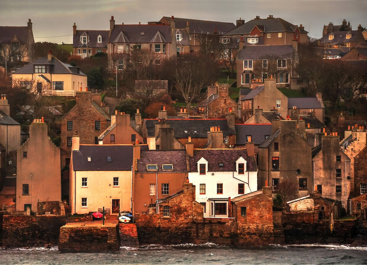 The Stromness seafront - image by Glenn McNaughton