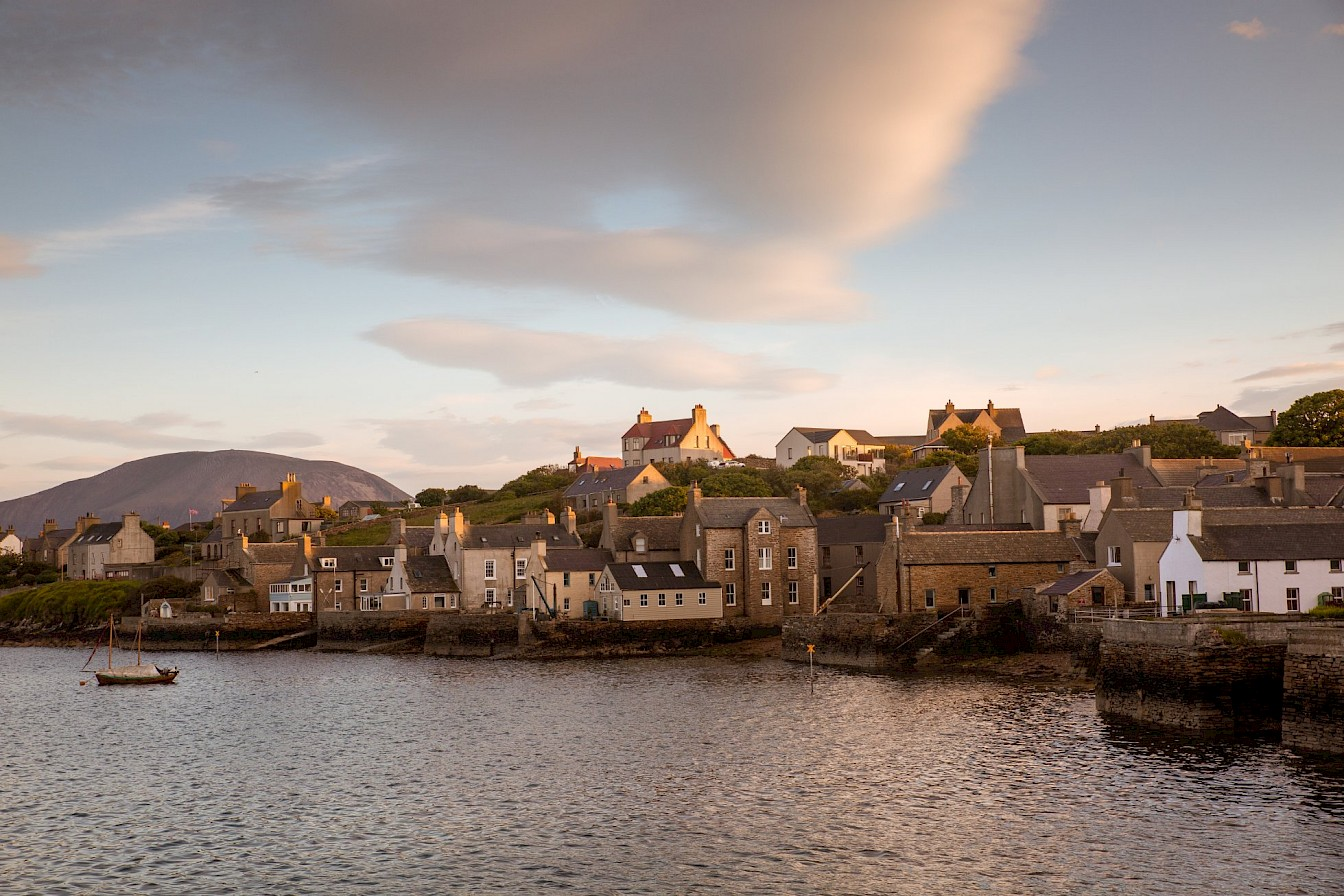 Is it our thriving and vibrant towns, like Stromness, full of unique local shops and friendly folk?