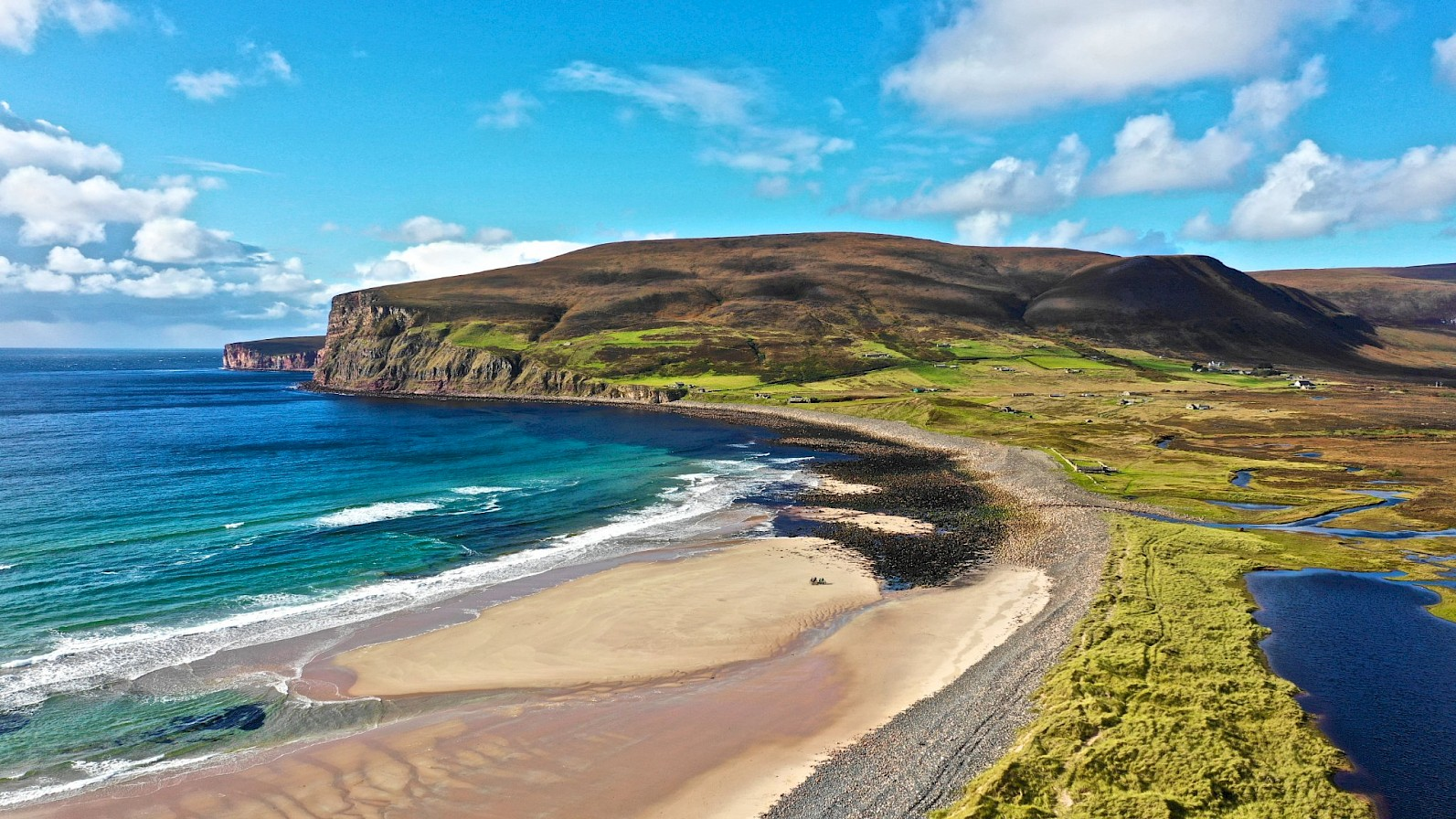 Is is because you can visit locations like Rackwick in Hoy, and be the only person on a beautiful beach?
