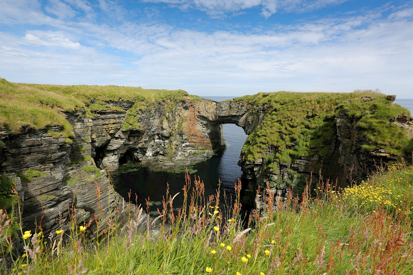 Is it our island communities and the stunning scenery you can find at places like the Vat of Kirbister, Stronsay?