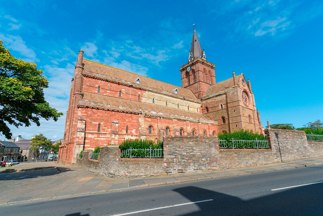 Is it down to places like St Magnus Cathedral, our Norse heritage and our links to the Vikings?