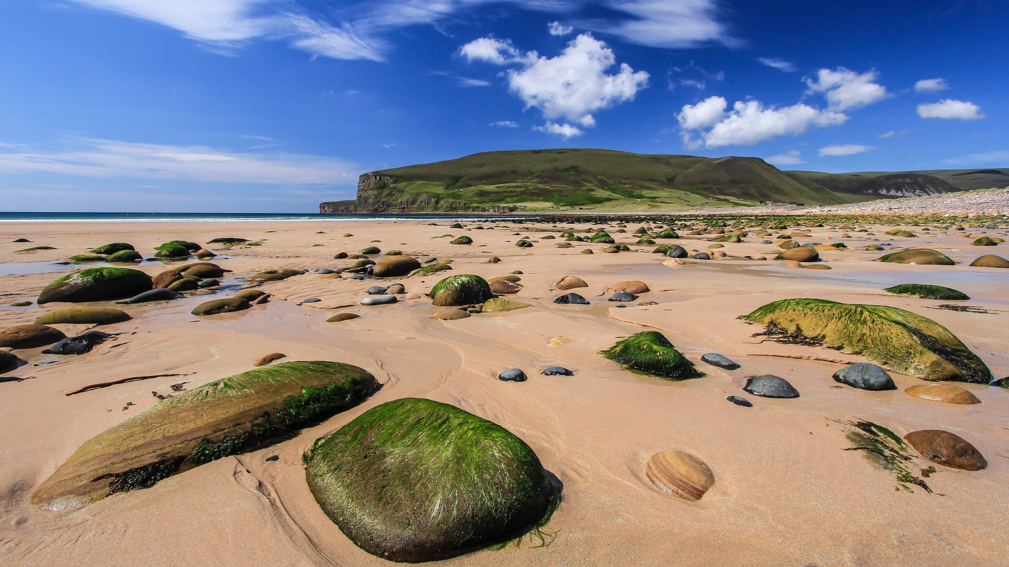 The beach at Rackwick, Hoy - image by Maciek Orlicki