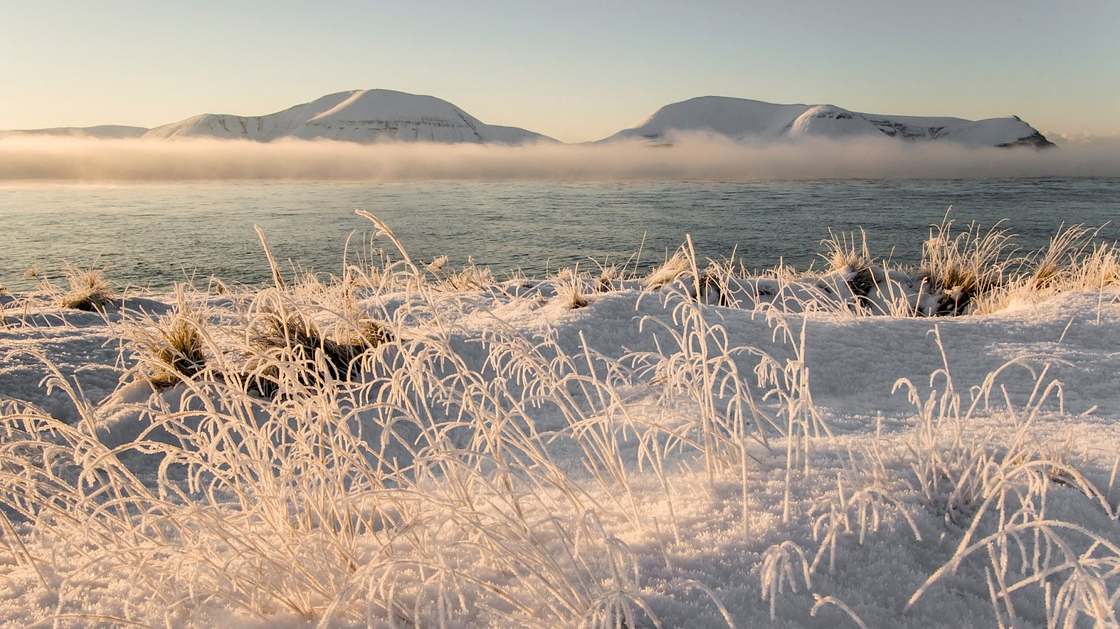 Winter view over the loch to the Hoy hills - image by Maciek Orlicki