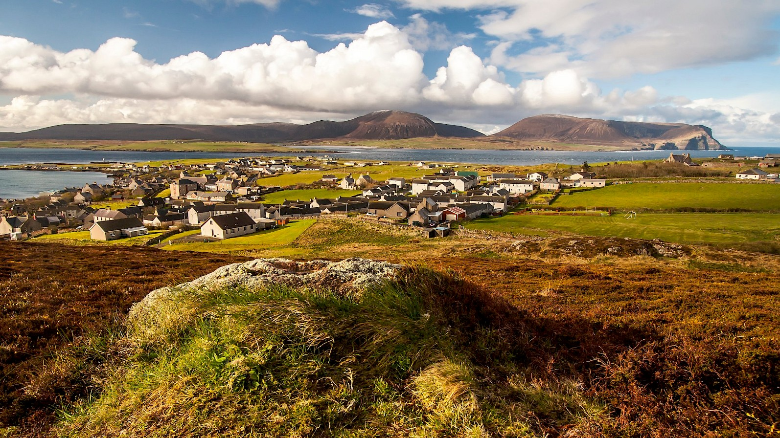 View over Stromness from Brinkies Brae - image by Maciek Orlicki