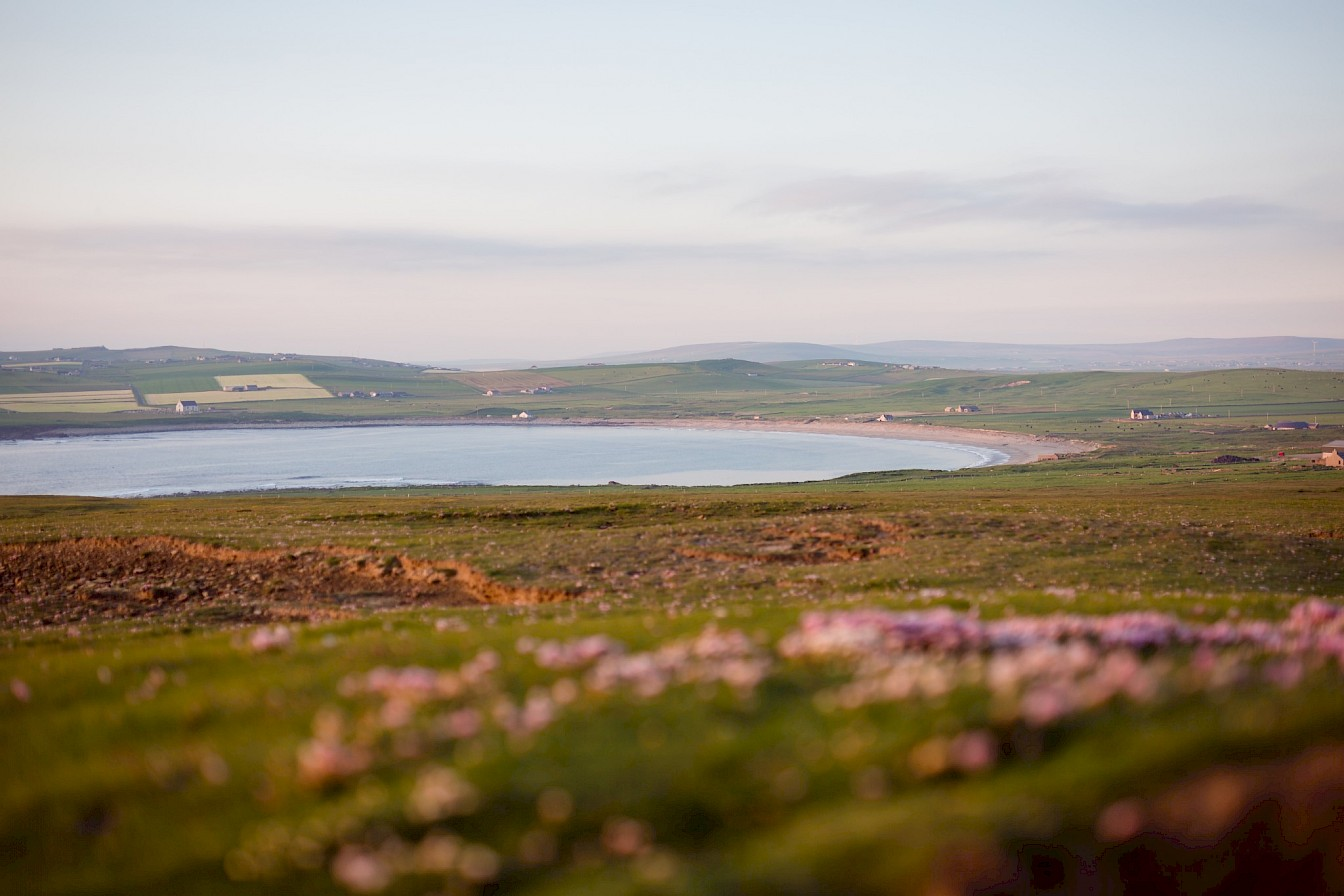 View over the Bay of Skaill, Orkney