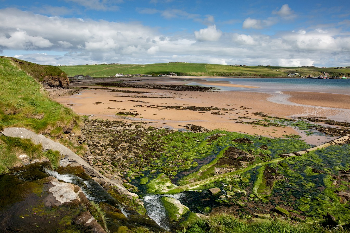 View over Scapa beach, Orkney