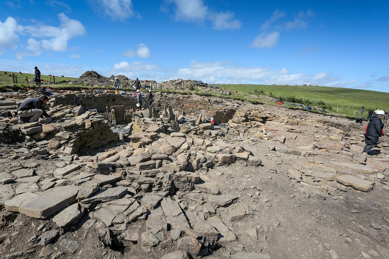 Excavations at The Cairns, Orkney
